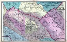 Map 008, Oak Grove, Silver Creek, Evergreen, Highland, Guadalupe, Llagas, Burnett, Almaden, Santa Clara County 1876